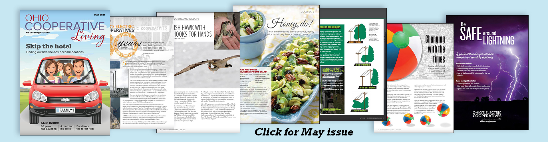 View the May issue of Ohio Cooperative Living magazine